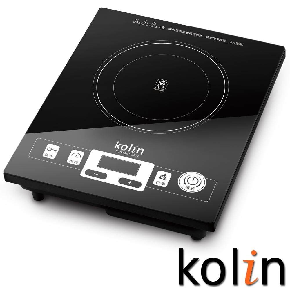 歌林kolin觸控式微晶電陶爐(KCS-MNR1207T)
