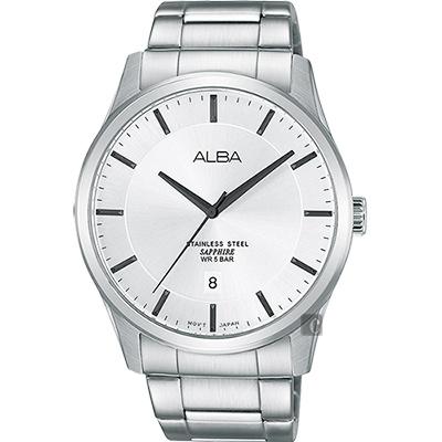 ALBA 時尚東京石英腕錶(AS9C95X1)-銀/40mm