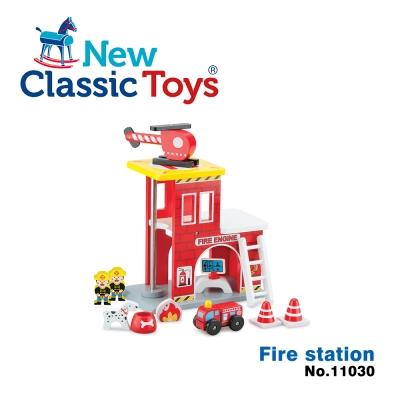 【荷蘭New Classic Toys】小英雄消防署木製玩具 - 11030