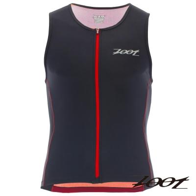 ZOOT 專業級全拉式鐵人上衣(男) Z1606026(城市紅)