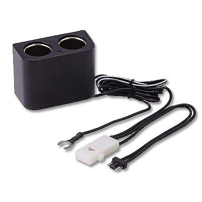 CARMATE-雙孔點菸器電源插座