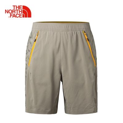 The North Face男款棕色防潑水短褲