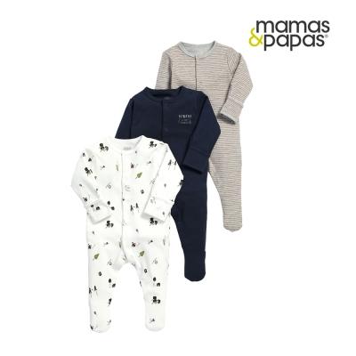 Mamas & Papas WTTW 露營探險連身衣3件組