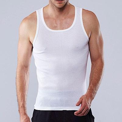 ELLE HOMME 棉混紡細肩帶背心《超值5件組》-E8102