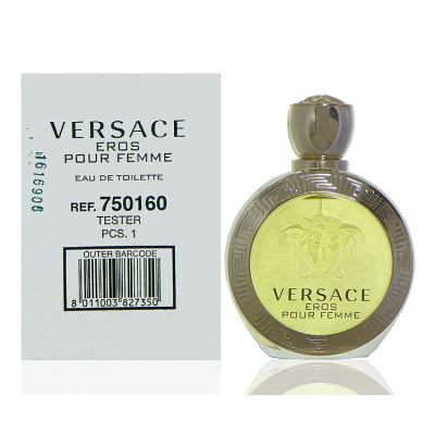 Versace Eros 艾諾斯‧愛神女性淡香水 100ml Tester 包裝
