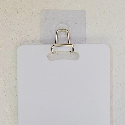 樂貼工坊 不鏽鋼大掛勾/砧板架/微透貼面(2入組)-4.5x3x5