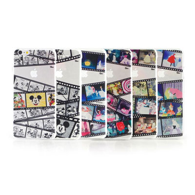 Disney iphone 6 plus / 6s plus 彩繪膠捲系列透明保...
