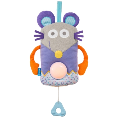 taf toys五感開發系列-睡眠安撫老鼠