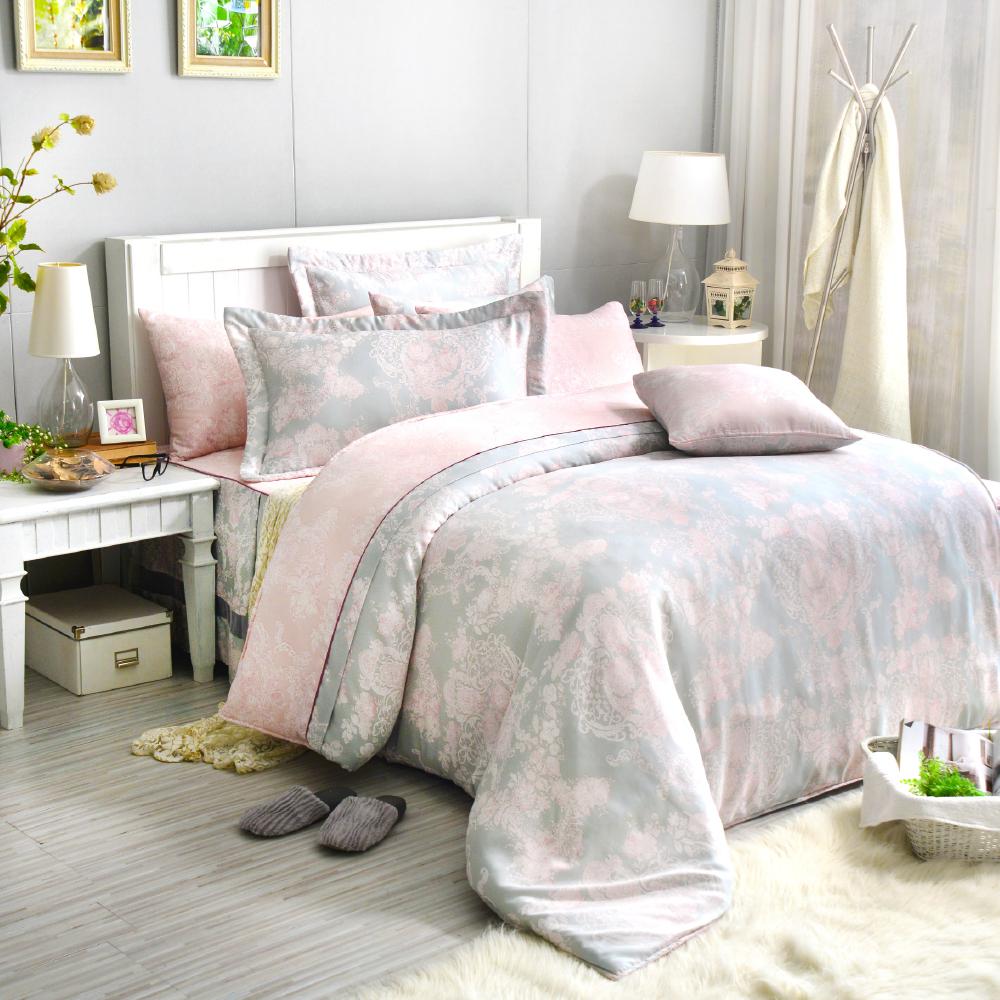 Saint Rose 狄安娜 雙人100%純天絲兩用被套床包四件組