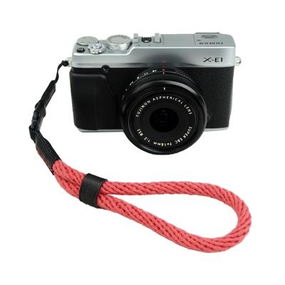 Cam in 棉織細繩款相機手腕帶(共五色)-紅色