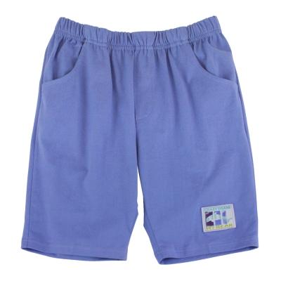 愛的世界 MYBEAR 夏令營純棉鬆緊帶五分褲/8~12歲