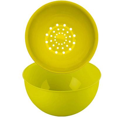 KOZIOL 過濾+洗滌籃組(綠 0 . 5 L)