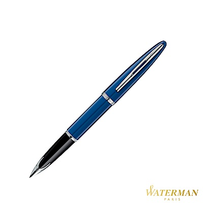 WATERMAN 頂級海洋系列 法藍白夾 鋼筆 F 18K (法國製)