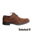 Timberland 男款咖啡色麂皮皮鞋