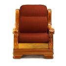 LooCa 富貴厚10cm全開式兩用沙發墊(6入)