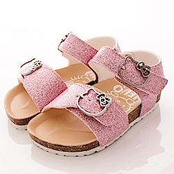 HelloKitty童鞋 金蔥涼鞋款 17962 粉 (小童段)T1