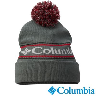 【Columbia哥倫比亞】 男女-保暖毛線帽-綠色 UCU99270GR