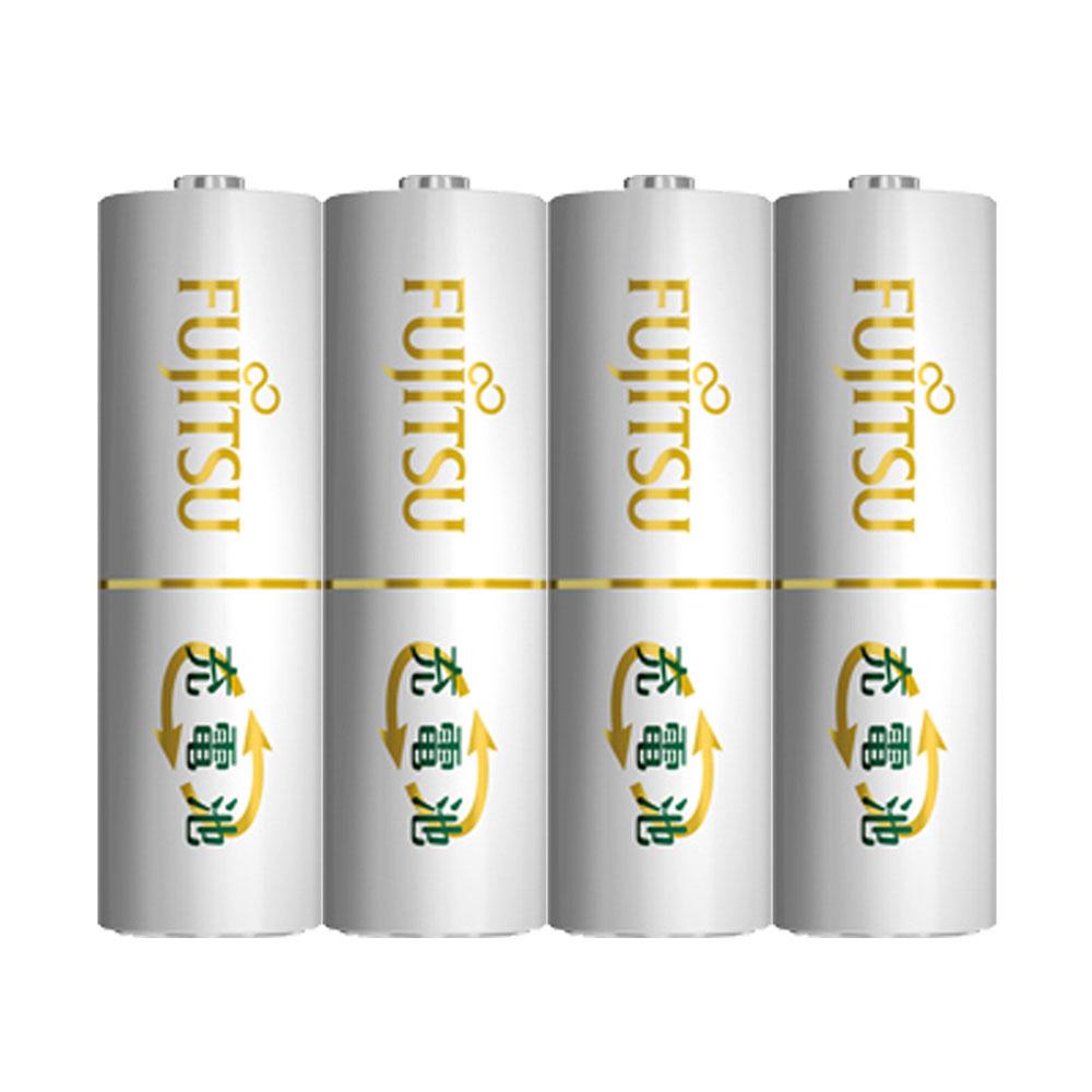 日本Fujitsu富士通低自放電充電電池組(內附4號4入)