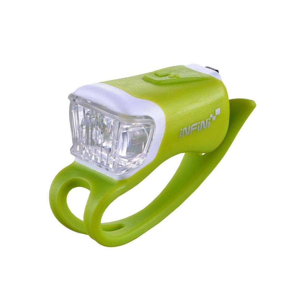 INFINI ORCA I-204W 鯨魚USB充電式白光警示燈 綠