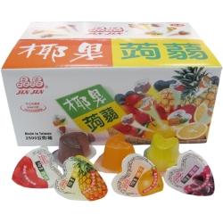 晶晶 椰果蒟蒻果凍散裝(6kg/箱)