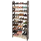 LIFECODE 可調式十層鞋架/可放30雙鞋