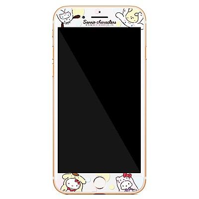GARMMA Hello Kitty iPhone 6S/7/8 滿版鋼化玻璃膜 變裝派對