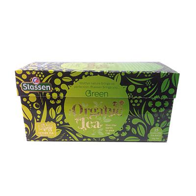 Stassen司迪生 有機栽培花芯綠茶(2gx25入)