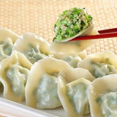 台北士東市場123水餃 韭菜豬肉水餃(10顆/盒)