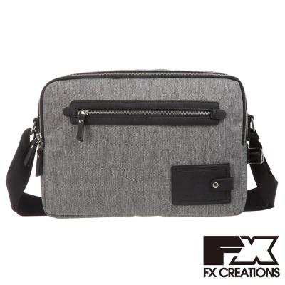 FX CREATIONS 側背包 大 淺灰 KAG69639-21