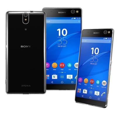 Simply Design Sony Xperia C5 Ultra 超薄TPU透明軟殼
