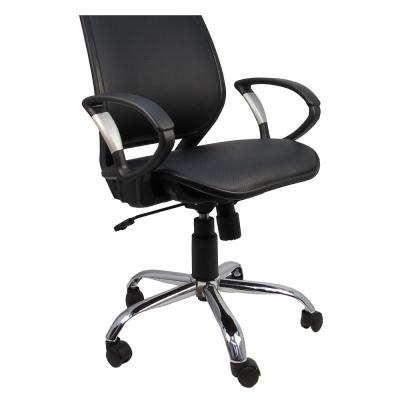 Design 格鬥士洞洞皮面透氣網墊辦公椅/電腦椅