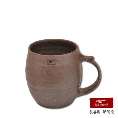 日本長谷園伊賀燒 日式酒杯-酒桶型(大)