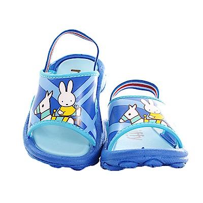 米飛兔鬆緊帶休閒拖鞋 藍 sk0433魔法Baby