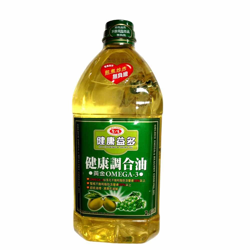 愛之味 黃金OMEGA-3健康調合油(2.6L)