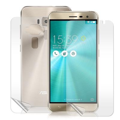 VXTRA 華碩ZenFone3 ZE520KL 5.2吋高透光亮面耐磨保護貼(正反雙膜)