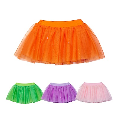 WHY AND 1/2 亮蔥網紗短裙 5Y~10Y 多色可選