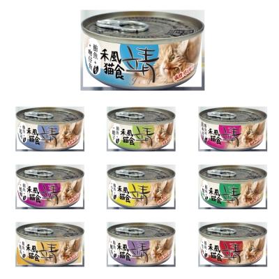 美味靖特級禾風貓罐(米)80g