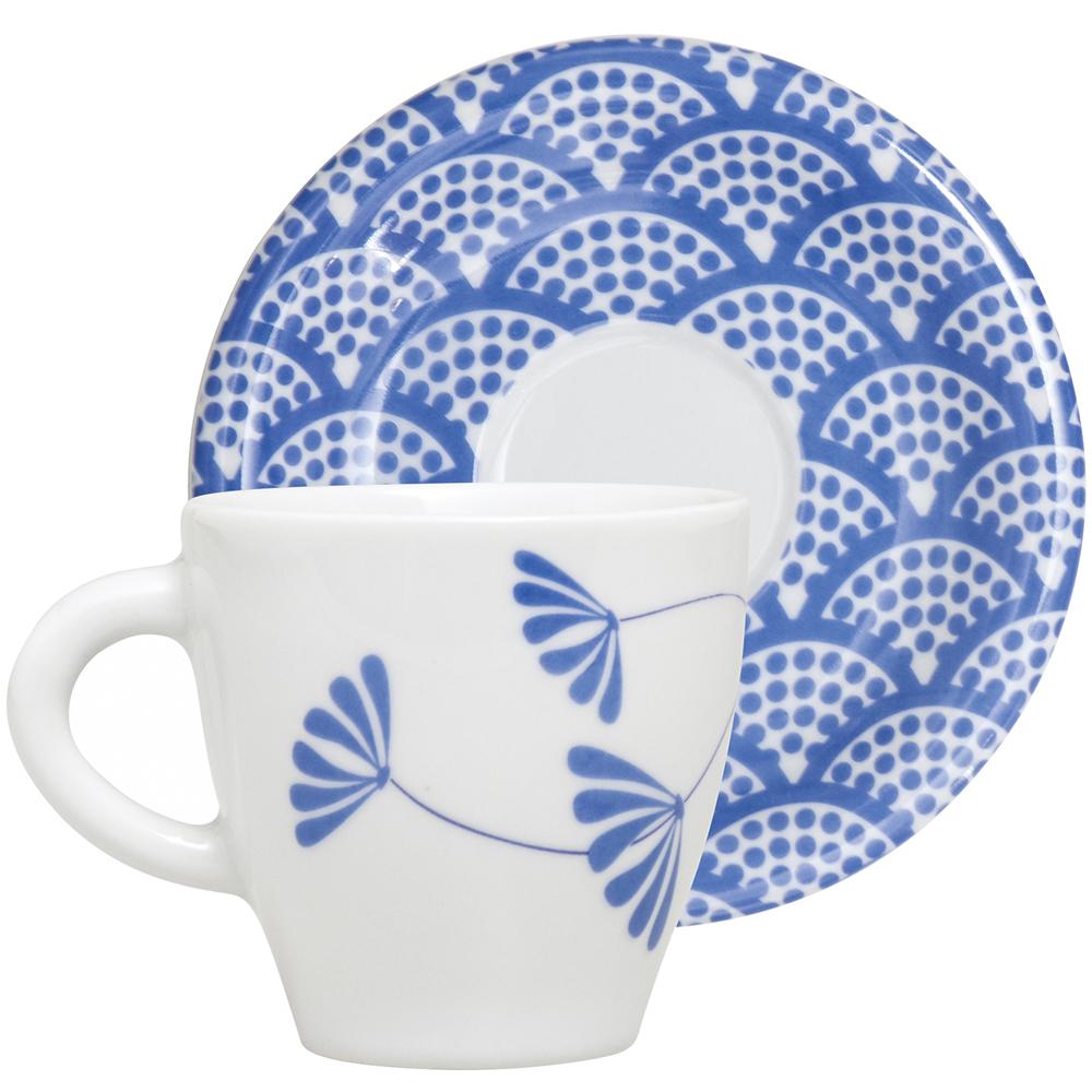 EXCELSA Maga咖啡杯碟組(湛藍100ml)