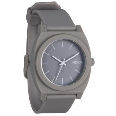 NIXON TIME TELLER P躍動普普個性腕錶-灰/40×37mm