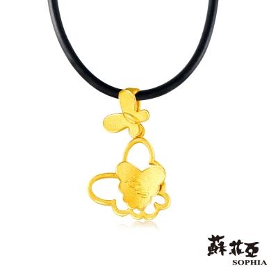 蘇菲亞SOPHIA - G LOVER系列 蝶吻黃金項鍊