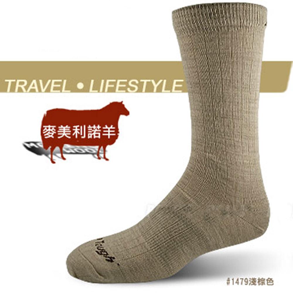 【DARN TOUGH 】VERMONT 美麗諾羊毛襪(2入)_深棕