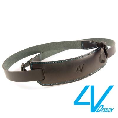 4V CLASSIC LARGE系列相機背帶CL-VV0930-BL-黑/青色(...