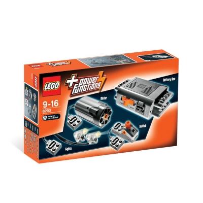LEGO樂高 動力零件盒系列8293 動力功能馬達組