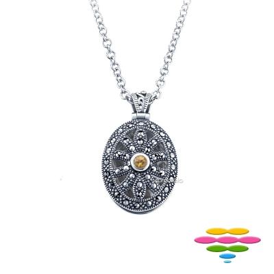 彩糖鑽工坊 想念系列 寶石純銀項鍊