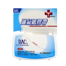 喬領BAC倍爾康 透氣膠帶(未滅菌) x1入 - 透明(附切台)