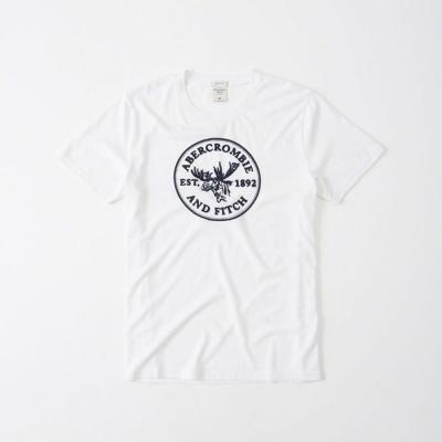 AF a&f Abercrombie & Fitch 短袖 T恤 白色 320
