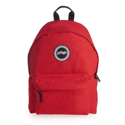 HYPE-經典素色後背包-Bright Red-紅色