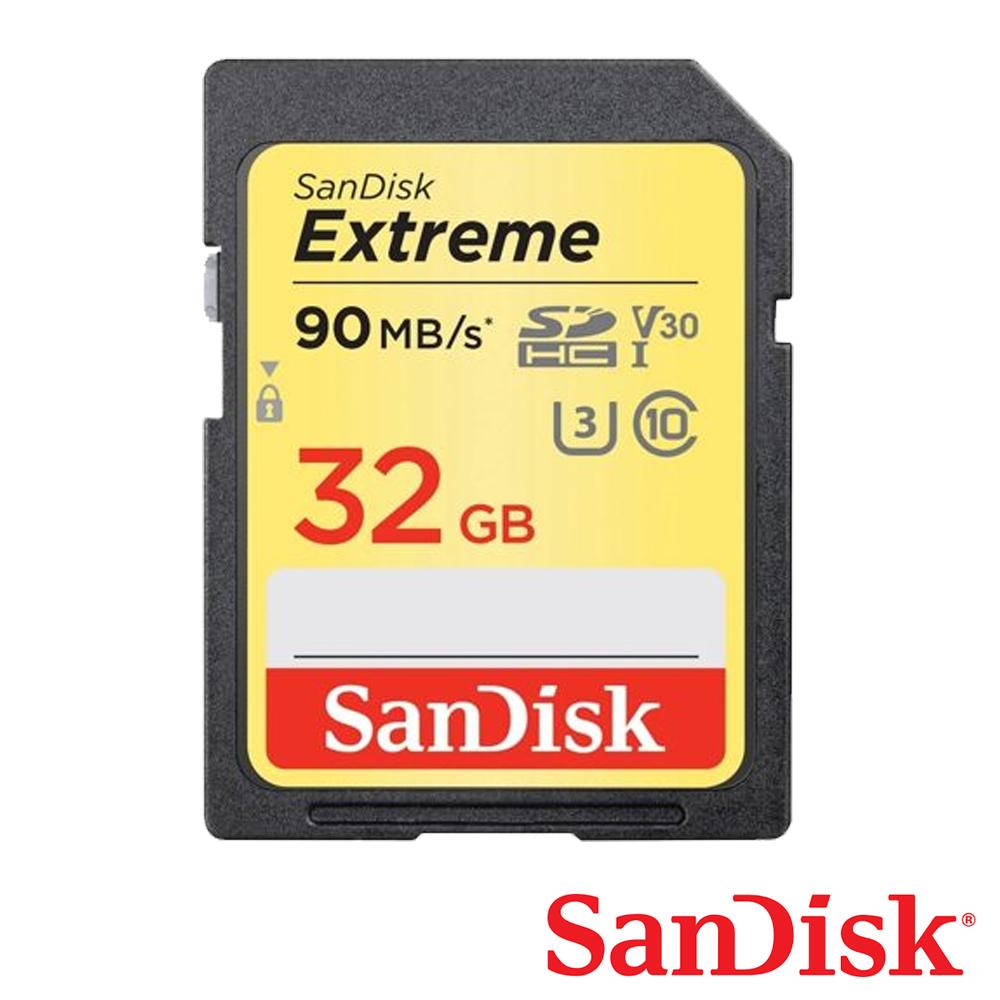 SanDisk 32G Extreme U3 SDHC UHS-I V30 記憶卡