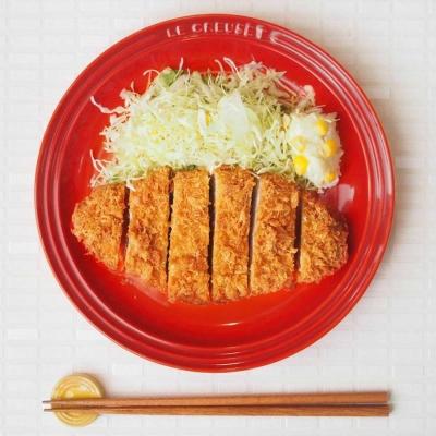 LE-CREUSET-瓷器圓盤-19cm-2入-櫻