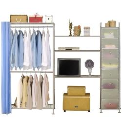 巴塞隆納-W2型90-90-D電視衣櫥置物櫃